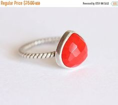 Hey, I found this really awesome Etsy listing at https://www.etsy.com/listing/249626861/on-sale-faceted-ring-red-ring-bezel-ring
