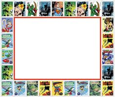 Free retro superhero invitation pdf from great kids birthday parties | Cool Mom Picks