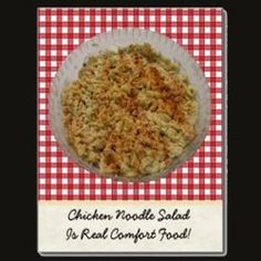 #chickenrecipes #noodlesrecipe #sidedishrecipes #chickennoodlesalad  #Hubpages This is one recipe you will need to make.