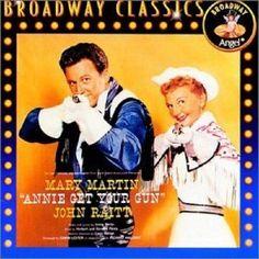 Annie Get Your Gun - Original TV Soundtrack - Mary Martin - John Raitt - CD 1993 #ShowVocals