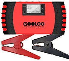 GOOLOO 800A Peak 18000mAh Car Jump Starter (Up to 7.0L Gas or 5.5L Diesel Engine) Portable Power Pack Auto Battery Booster Phone Charger Built-in LED Light and Smart Protection