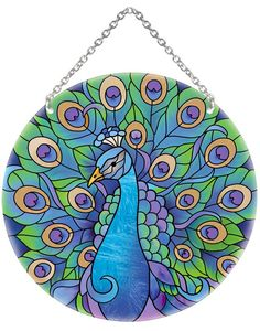 www.joanbaker.com  $22.00.  ---- I want this. ---Suncatcher-LC042R-Peacock - Peacock