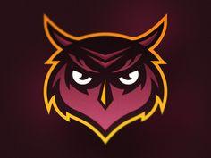 Owl Mascot Logo
