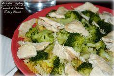 Ensalada de Pasta con Pollo y Brocoli (Dieta)