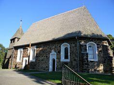 Koło domu: Kościół św. Wawrzyńca w Studzieńcu
