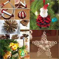 These handmade Christmas decorations are fun to make . This is a good way to spend quality time with your family this holiday . They have an unique appeal