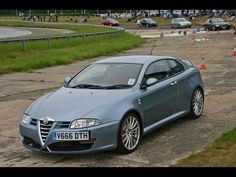 2007 Autodelta Alfa Romeo GT 3.7 Super - Front And Side Drive - 1024x768 - Wallpaper