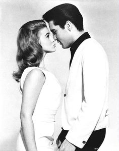 """""""Viva Las Vegas"""" (1964), starring Elvis Presley and Ann-Margret. Publicity stills were specially-posed photos, usually taken off the set, for purposes of publicity or reference for promotional artwork.   