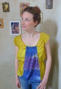 eine sommerliche, luftige Bluse- handmade! von EmmyLou http://de.dawanda.com/shop/emmylou