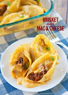 Brisket Stuffed Mac and CheeseReally nice recipes. Every  Mein Blog: Alles rund um die Themen Genuss & Geschmack  Kochen Backen Braten Vorspeisen Hauptgerichte und Desserts # Hashtag
