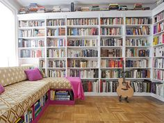 These 20 stunning home libraries will give you shelf envy.