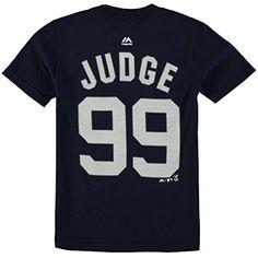751035bcf Aaron Judge New York Yankees  99 MLB Youth Player T-shirt