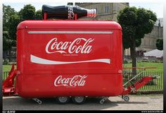 Coca Cola Sales Trailer by uslovig, via Flickr