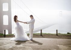Golden Gate Bridge Wedding Helena and Laurent Photography