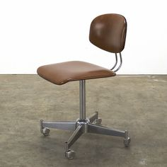 Located using retrostart.com > Office Chair by Unknown Designer for Unknown Manufacturer