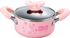 Sanrio Hello Kitty Pink Heart Soup Pot Cooking Pan #0405 - http://cookware.everythingreviews.net/9688/sanrio-hello-kitty-pink-heart-soup-pot-cooking-pan-0405.html