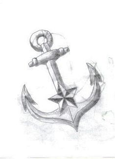 anchor tattoo, my sister and i have talked about this once or twice... maybe it will look nice!
