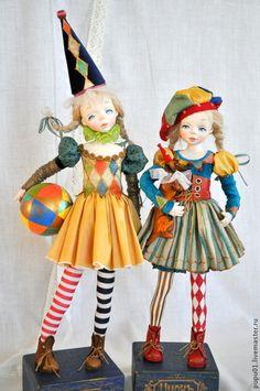 Коллекционные куклы ручной работы. Ярмарка Мастеров - ручная работа. Купить Авторская кукла Играю в цирк!. Handmade.