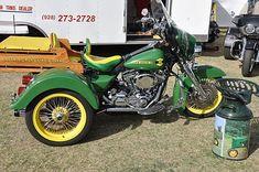 trike motorcycles   John Deer motorcycle Trike