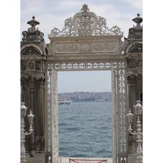 One of the most beautiful places I've ever been, Istanbul, the trip of a life time Dolmabahçe Palace, Istanbul Amazing Architecture, Architecture Details, The Places Youll Go, Places To Go, Rome Florence, Gates, Belle Villa, Architectural Elements, Windows And Doors