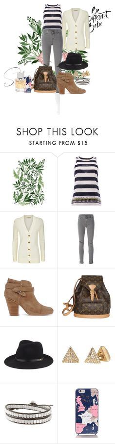 """Style Luxury Woman"" by almacleopatra ❤ liked on Polyvore featuring Vikki Chu, Tory Burch, J Brand, rag & bone, Louis Vuitton, Stella & Dot and Jimmy Choo"