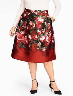 Women's Plus Size Skirts | Talbots Woman Plus