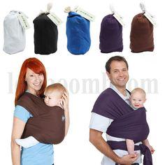 Bauchtrage Babytrage Tragetuch Babytragetuch Baby Trage Carrier bis 17kg Neu