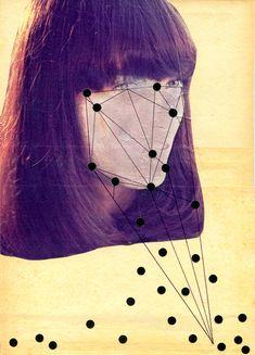 Art Magazine. For Example: collage by mon gobi