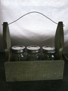 Vintage Crate windowsill planter box by PrairieTreasure on Etsy, $22.00