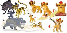 FREE DOWNLOAD! The Lion Guard Clipart