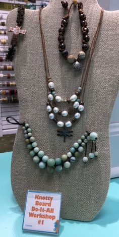 Knotty-do-it-all Workshop #1 | The LH Bead Gallery