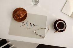 Multi Table Mat 2 Set : 04 Humming Bird - Dailylike Canada