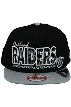 bfad74cef NFL Oakland Raiders Snapback Hat (51)