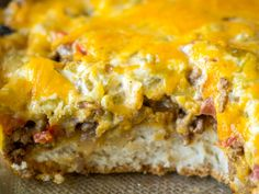 Cheesy Cattle Drive Casserole – Delicious recipes to cook with family and friends. Mexican Food Recipes, Beef Recipes, Cooking Recipes, Hamburger Recipes, Kraft Recipes, Potato Recipes, Chicken Recipes, Beef Dishes, Food Dishes