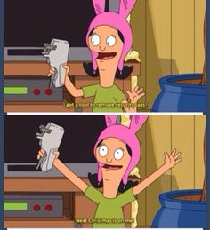 New favorite show and she is my spirit animal. Bobs Burgers Quotes, Tina Belcher, Bob S, All That Matters, My Spirit Animal, The Villain, Best Shows Ever, Laugh Out Loud, The Funny