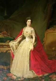 """Portrait by Giuseppe Sogni of the Empress Elisabeth """"Sissi"""" (Elisabeth Amalie Eugenie) Dec Sep Bavaria in official court dress. Sissi was the wife of Emperor Franz Joseph I Aug Nov Austria. Palacio Pitti, Kaiser Franz Josef, Empress Sissi, Elisabeth I, Wilder Kaiser, Most Famous Paintings, Her World, Oil Painting Reproductions, Jolie Photo"""