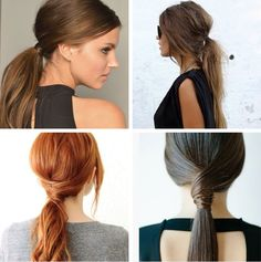 Whether tousled or tamed, turn heads this fall by pulling your mane into a low pony.