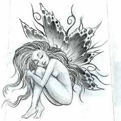 Image detail for -... Fairy Tattoo Design