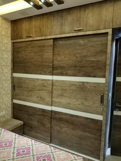 Interior Designer in Thane Wardrobe Laminate Design, Wall Wardrobe Design, Sliding Door Wardrobe Designs, Wardrobe Interior Design, Bedroom Wall Designs, Wardrobe Room, Bedroom Cupboard Designs, Wardrobe Furniture, Bedroom Closet Design