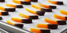 Chocolate Dipped Orange Peel Recipes | Food Network Canada