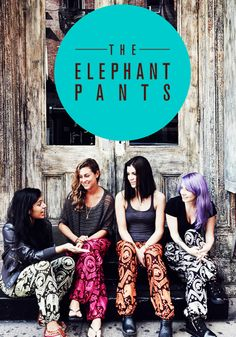 Don't leave the house without your best friends + elephant pants. Check these out today!!