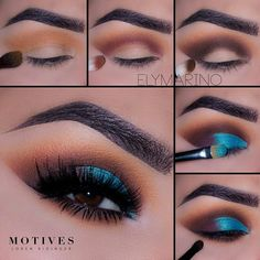 Eye Make-up - Pegasus - Equinemarch Your own equine breed by Dalg. - New Hair Style Maquillage On Fleek, Maquillage Yeux Cut Crease, Lip Makeup, Makeup Eyeshadow, Beauty Makeup, Eyeshadow Makeup Tutorial, Makeup Eyebrows, Makeup Tutorial Blue Eyes, Simple Makeup Tutorial