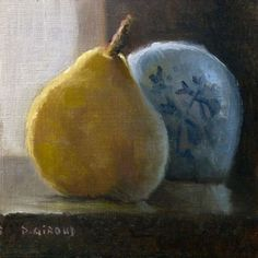 Buy Backlit Pear, Oil painting by Pascal Giroud on Artfinder. Discover thousands of other original paintings, prints, sculptures and photography from independent artists.