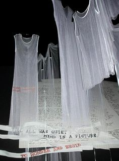 Woolgathering, Ann Demeulemeester, S/S 2000 collab with Patti Smith