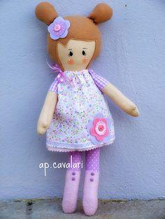 Anita boneca doll fabric doll