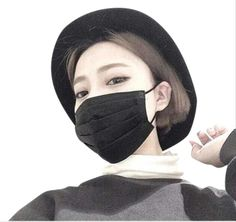 New Fashion Woman Man Mouth Masks Anti Dust Windproof Mouth-muffle Bacteria Thin Soft Mask Female Male Black White Bts Jungkook And V, Korean Face Mask, 90s Fashion, Womens Fashion, Airport Fashion, Mouth Mask Fashion, Airport Style, Ulzzang Girl, Asian Girl