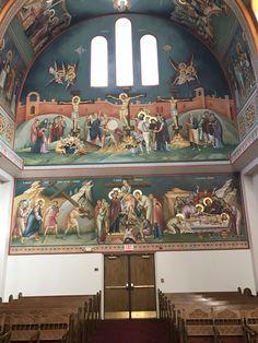 Uncategorized | iconsalevizakis Byzantine Icons, Byzantine Art, Church Interior, Religious Images, Orthodox Icons, Mural Art, Christianity, Religion, Projects