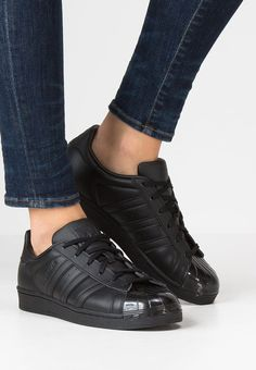 wholesale dealer 7ad5e 4a3ad adidas Originals SUPERSTAR - Sneakers laag - core black white - meta.domain