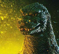 Godzilla in all his green glory