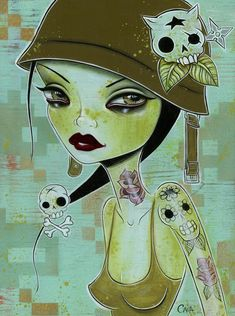 "Caia Koopman ""bayonet girl"""